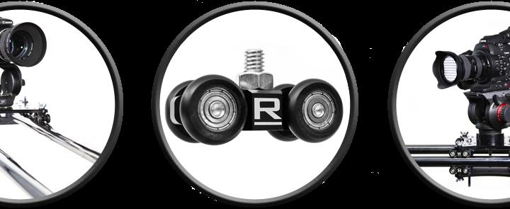 MicroWheel Camera Dolly Wheels