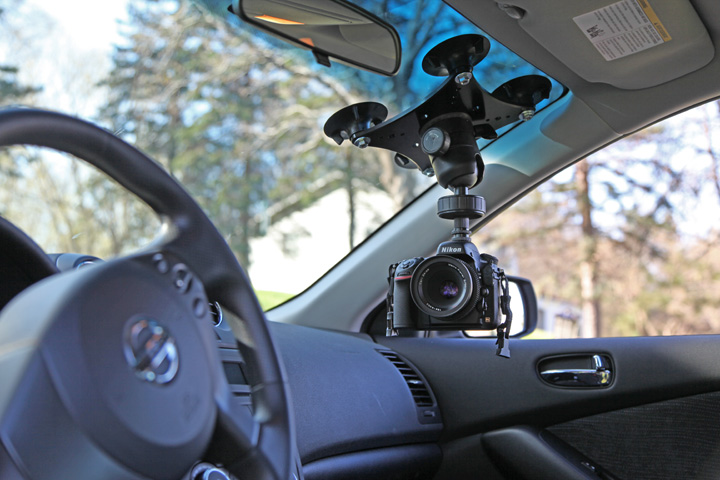 car suction mounts for film video cinema camera suction mounting