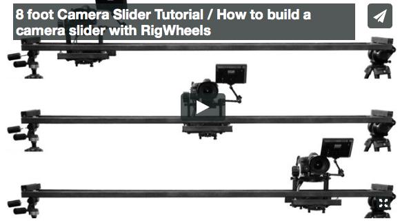 DIY 8 foot Camera Slider Tutorial