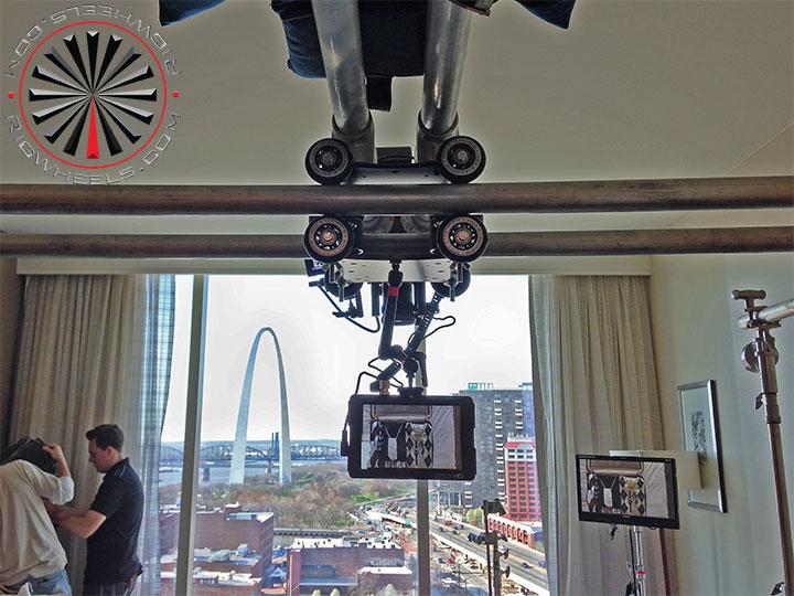 Overhead Camera Slider Dolly System Using The Raildolly 2x