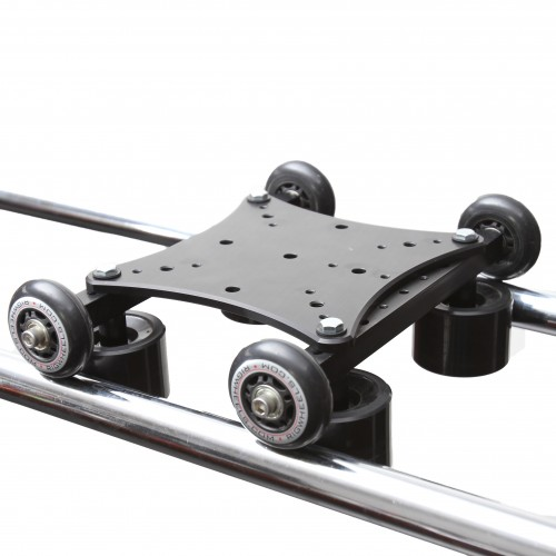 large/long camera slider for extra long tracking and dolly shots