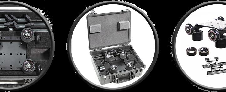 RailDolly Traveler – Portable Camera Dolly