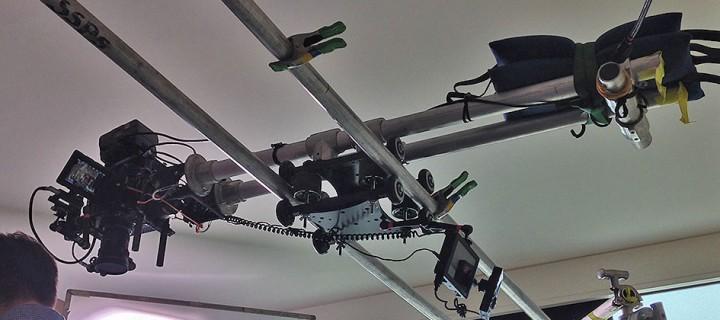 Overhead Camera Slider-Dolly System using the RailDolly 2X