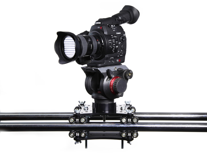 slider for professional cameras - production