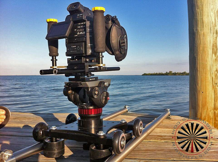 smooth and large camera slider system